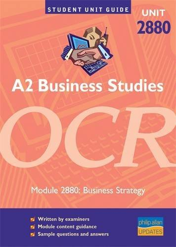 A2 Business Studies OCR Module 2880: Business: Williams, Roger and