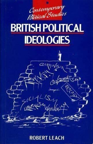 9780860038696: British Political Ideologies (Contemporary Political Studies)