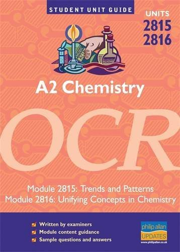 A2 Chemistry OCR: Units 2815 and 2816: Mike Smith