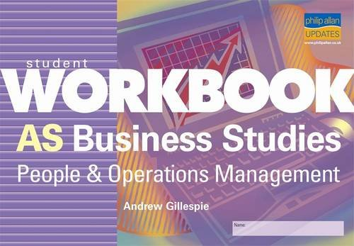 9780860039730: Student Workbook AS Business Studies: People and Operations Management