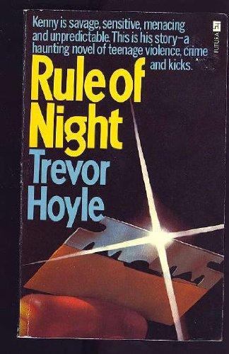 Rule of Night (0860071758) by Trevor HOYLE