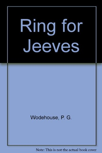 9780860090120: Ring for Jeeves, Large Print