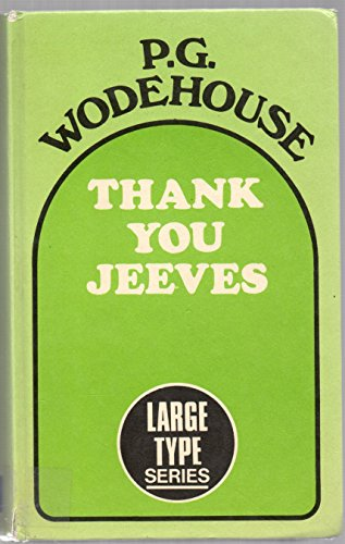 9780860090427: Thank You, Jeeves