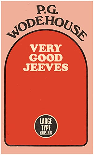 9780860090885: Very Good, Jeeves
