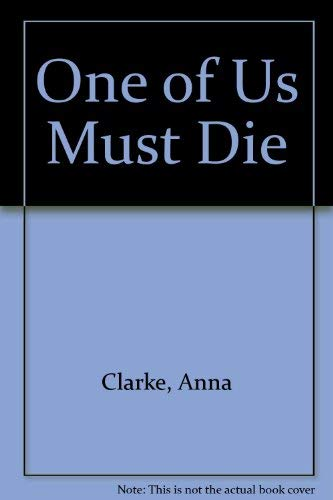 9780860095255: One of Us Must Die