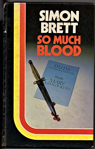 So Much Blood (0860097358) by Simon Brett