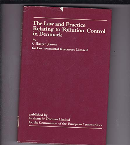 The law and practice relating to pollution: C. Haagen Jensen