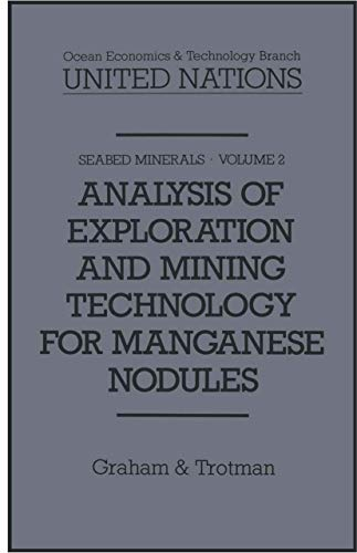 9780860103486: Analysis of Exploration and Mining Technology for Manganese Nodules (Seabed Minerals)
