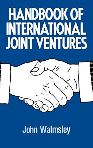 9780860103691: Handbook of International Joint Ventures