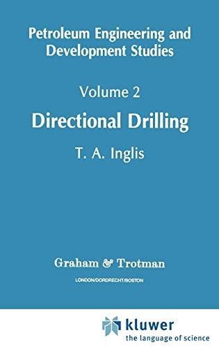 9780860107163: Directional Drilling: Directional Drilling v. 2 (Petroleum Engineering and Development Studies)