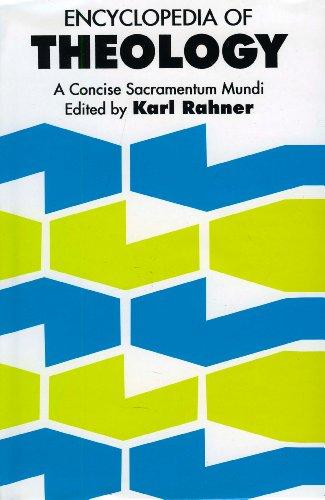 9780860120063: Encyclopedia of Theology: A Concise Sacramentum Mundi