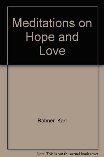 9780860120278: Meditations on Hope and Love