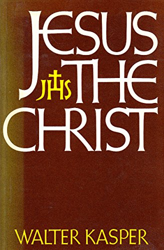 Jesus The Christ (0860120589) by Kasper, Walter