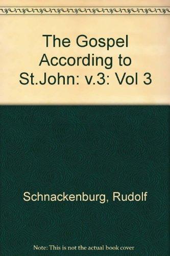 9780860121107: 3: The Gospel According to St. John