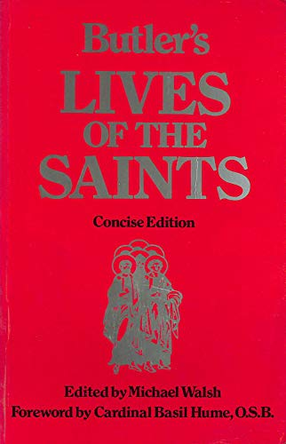 9780860121428: Butler's Lives of the Saints
