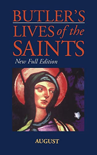 9780860122579: Butler's Lives of the Saints: August