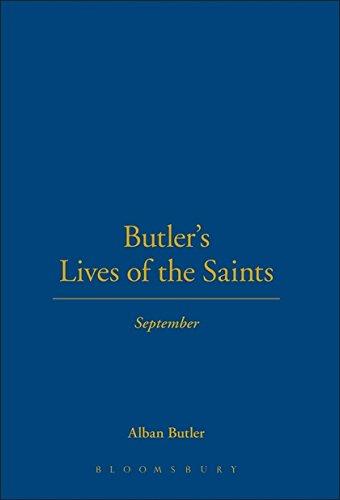 9780860122586: Butler's Lives Of The Saints:September: Vol 9