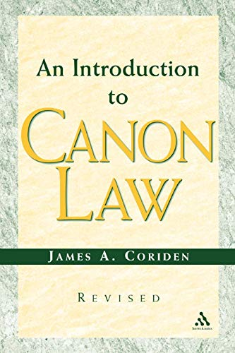 9780860123743: Introduction to Canon Law Revised Edition