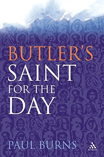 9780860124351: Butler's Saint for the Day