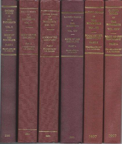 9780860132547: The Book of the Discipline Vinaya-pitaka (6 Vol. Set)