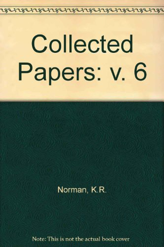 9780860133360: Collected Papers: v. 6