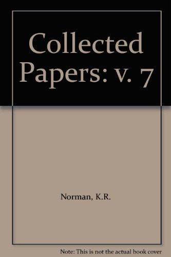 9780860133889: Collected Papers: v. 7