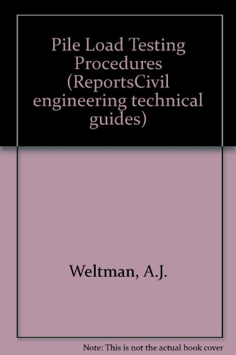 9780860171362: Pile Load Testing Procedures (ReportsCivil engineering technical guides)