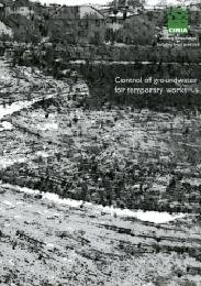9780860172611: Control of Groundwater for Temporary Works (CIRIA Report)