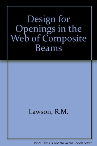Design for Openings in the Web of Composite Beams