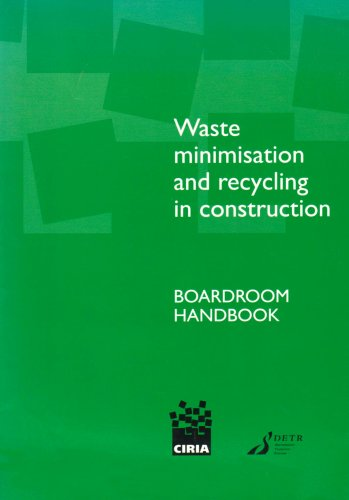 9780860173205: Waste Minimisation and Recycling in Construction - Boardroom Handbook