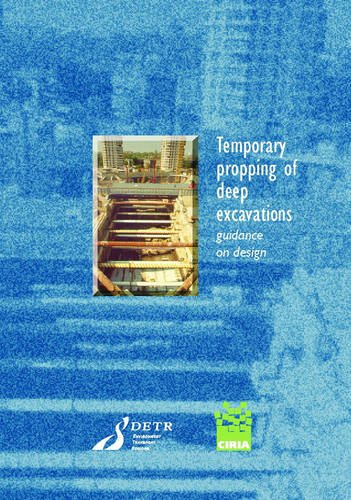 9780860175179: Temporary Propping of Deep Excavations