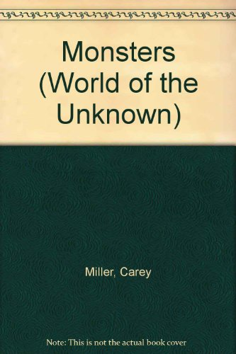 9780860201472: Monsters (World of the Unknown)