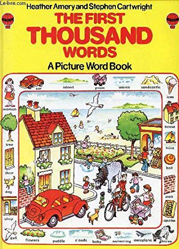 9780860202660: The First Thousand Words: A Picture Word Book (Usborne First 1000 Words)