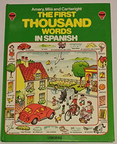 9780860202776: Spanish (Usborne First 1000 Words)