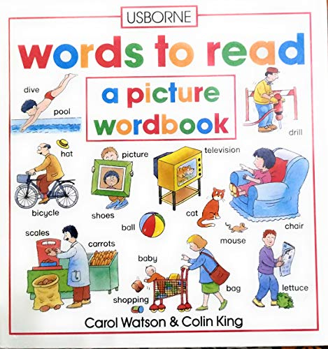 9780860203940: Words to Read (Picture Word Books)