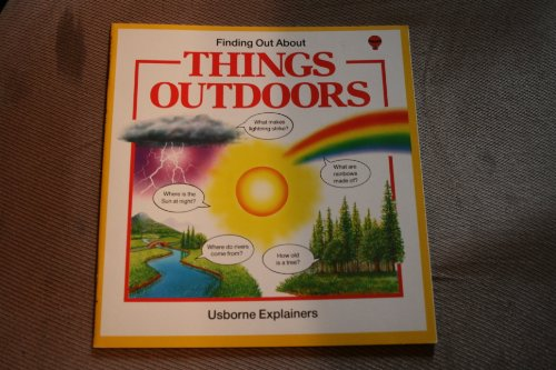 9780860204640: Things Outdoors (Usborne Explainers)