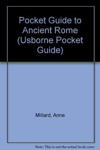 9780860205371: Pocket Guide to Ancient Rome (Usborne Pocket Guide)