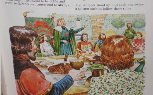 9780860205517: Adventures of King Arthur (Usborne Picture Classics)