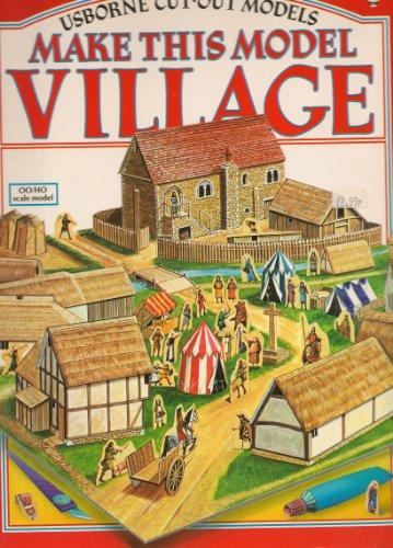 9780860205791: Make This Model Village (Usborne Cut-out Models)