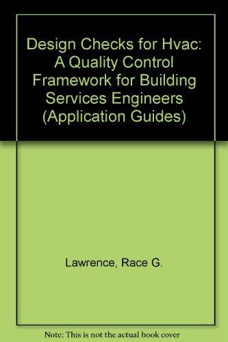 9780860225898: Design Checks for Hvac: A Quality Control Framework for Building Services Engineers (Application Guides)