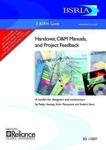 9780860226673: Handover, O and M Manuals and Project Feedback: A Toolkit for Designers and Contractors