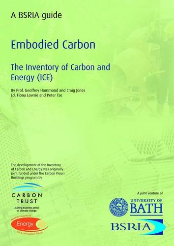 9780860227038: Embodied Carbon: The Inventory of Carbon and Energy (BSRIA Guide)