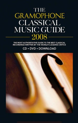 9780860249627: Gramophone Classical Music Guide 2008