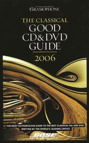 9780860249726: Classical Good CD and DVD Guide (Classical Good CD, DVD, & Download Guide)