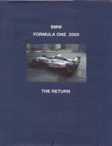 BMW Formula One 2000. The Return.: Jones, Bruce (editor)