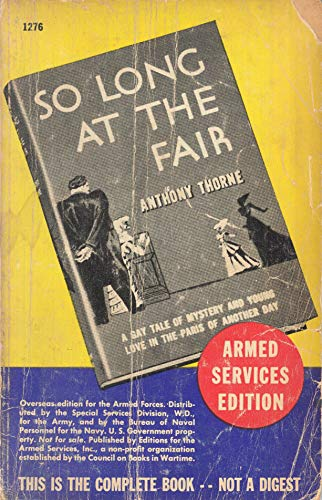 9780860250562: So Long at the Fair