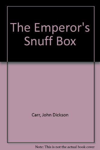 9780860252160: The Emperor's Snuff Box