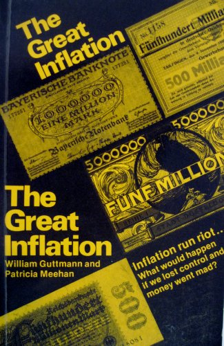 9780860330356: Great Inflation: Germany, 1923