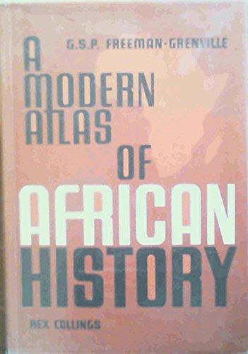 9780860360094: Modern Atlas of African History