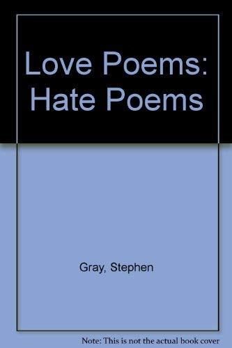 9780860361961: Love Poems, Hate Poems